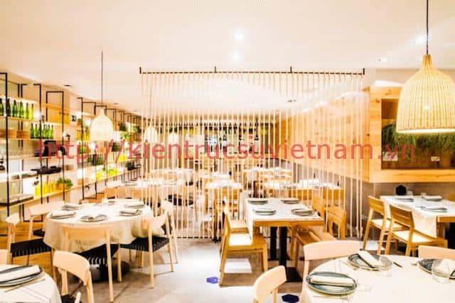 thiet ke nha hang hai san dep - Thiết kế thi công nhà hàng đẹp sang trọng
