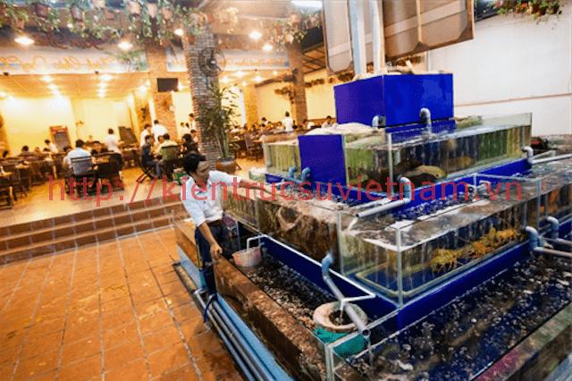 thiet ke nha hang hai san - Thiết kế nhà hàng hải sản