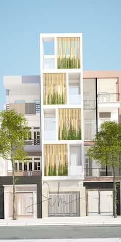 tu van nha 5 tang kts phan dinh kha - Thiết kế nhà 5 tầng đẹp hiện đại chị Vân ở quận Bình Thạnh