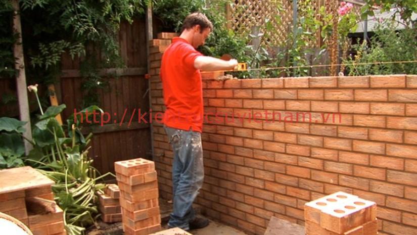 1m2 tương bao nhieu vien gach 1 - 1 mét vuông tường bao nhiêu viên gạch