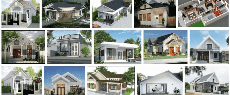 Bộ sưu tập các mẫu thiết kế nhà đẹp ở nông thôn Việt Nam