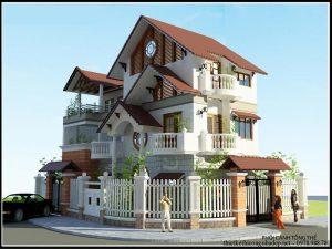 biệt thự 3 tầng 2 mặt tiền 3 300x225 - Biệt thự 3 tầng 2 mặt tiền | 50 mẫu đẹp đa phong cách