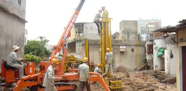 biện pháp thi công đóng cọc bê tông cốt thép