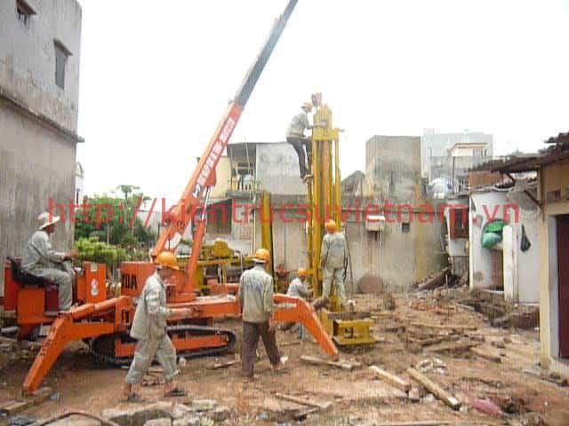 bien phap thi cong dong coc tong cot thep - Thi công xây dựng nhà ở tại Hải Phòng