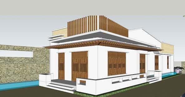 Bộ sưu tập 45 mẫu thiết kế nhà cấp 4 giá 300 triệu đẹp