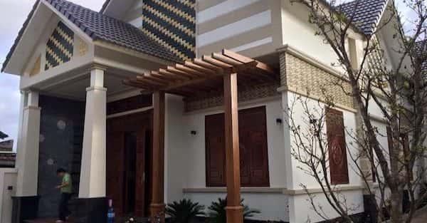 Công trình biệt thự 1 tầng đẹp ở Gia Lai