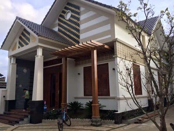 biet thu 1 tang dep gia lai 2 - 30 Mẫu thiết kế biệt thự với kiến trúc hiện đại đẹp