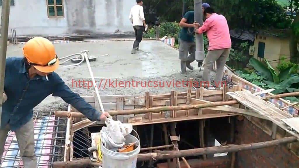 mot khoi be tong do duoc bao nhieu m2 1024x576 - Một số lưu ý khi đổ bê tông mái nhà ở