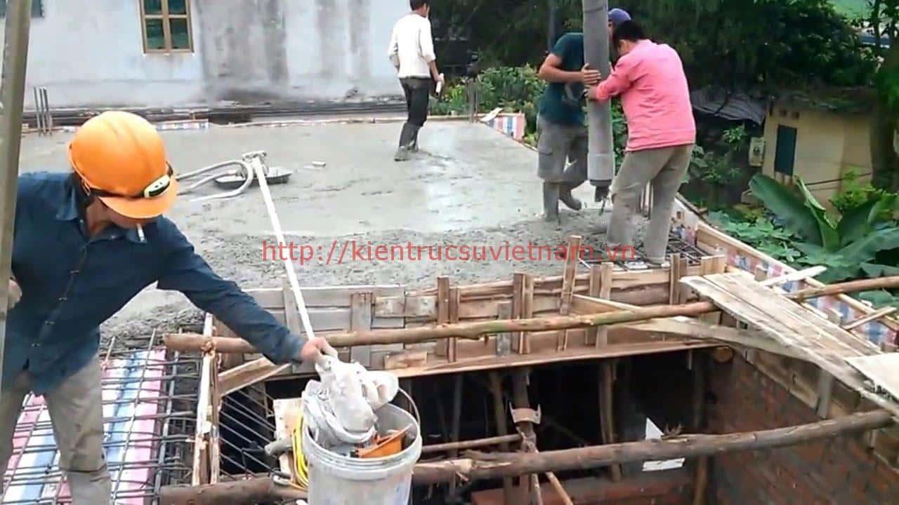 mot khoi be tong do duoc bao nhieu m2 - Một số lưu ý khi đổ bê tông mái nhà ở