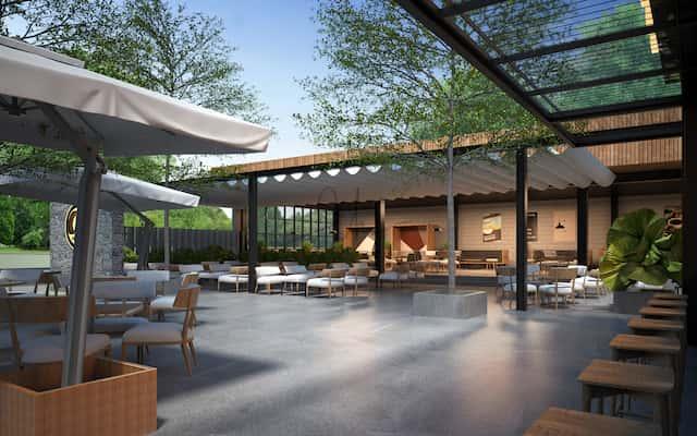 thiet ke quan cafe 1view 7 - Những phong cách kiến trúc cafe được ưa chuông hiện nay