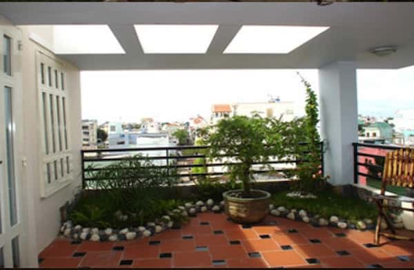 thiet ke san thuong 3 - Thiết kế sân thượng đẹp
