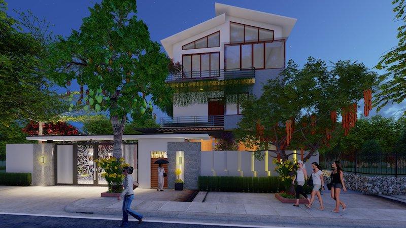 thiet ke san thuong nha pho z2647452138665 daaa6423d68be5e47d5b0769e532bc28 - Thiết kế nhà phố đẹp