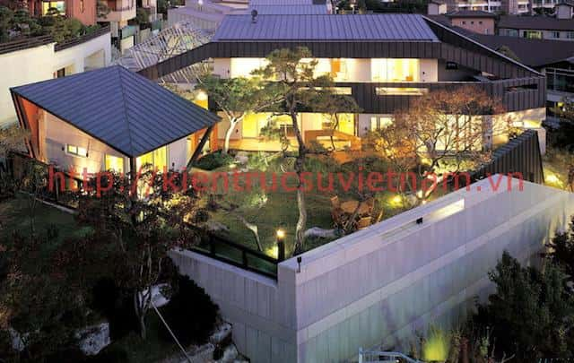thiet ke nha han quoc 1255633159 nsh06 - Các dự án nhà đẹp đã thực hiện