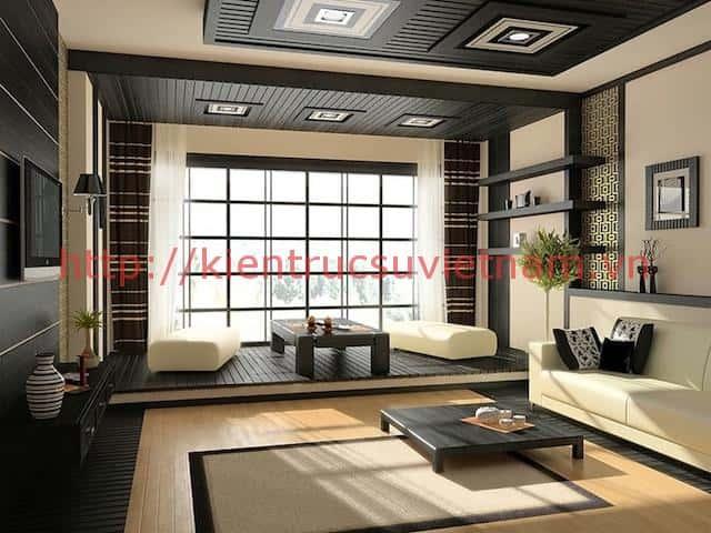 thiet ke nha han quoc 2 zen living room zen inspired interior design zen interiors - 30 Mẫu nhà đẹp Hàn Quốc phong cách { Cực Đỉnh} năm 2018