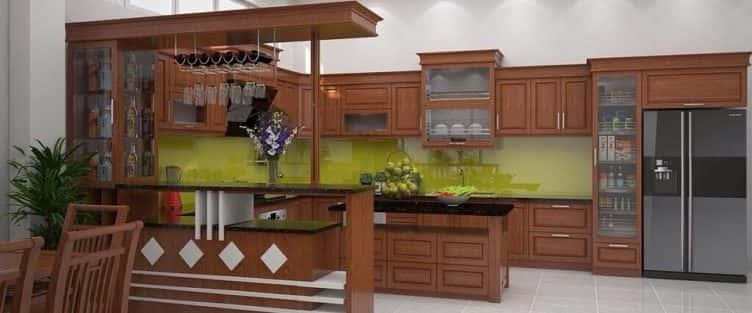 10 mẫu tủ bếp hiện đại thông minh giúp bạn tiết kiệm không gian bếp