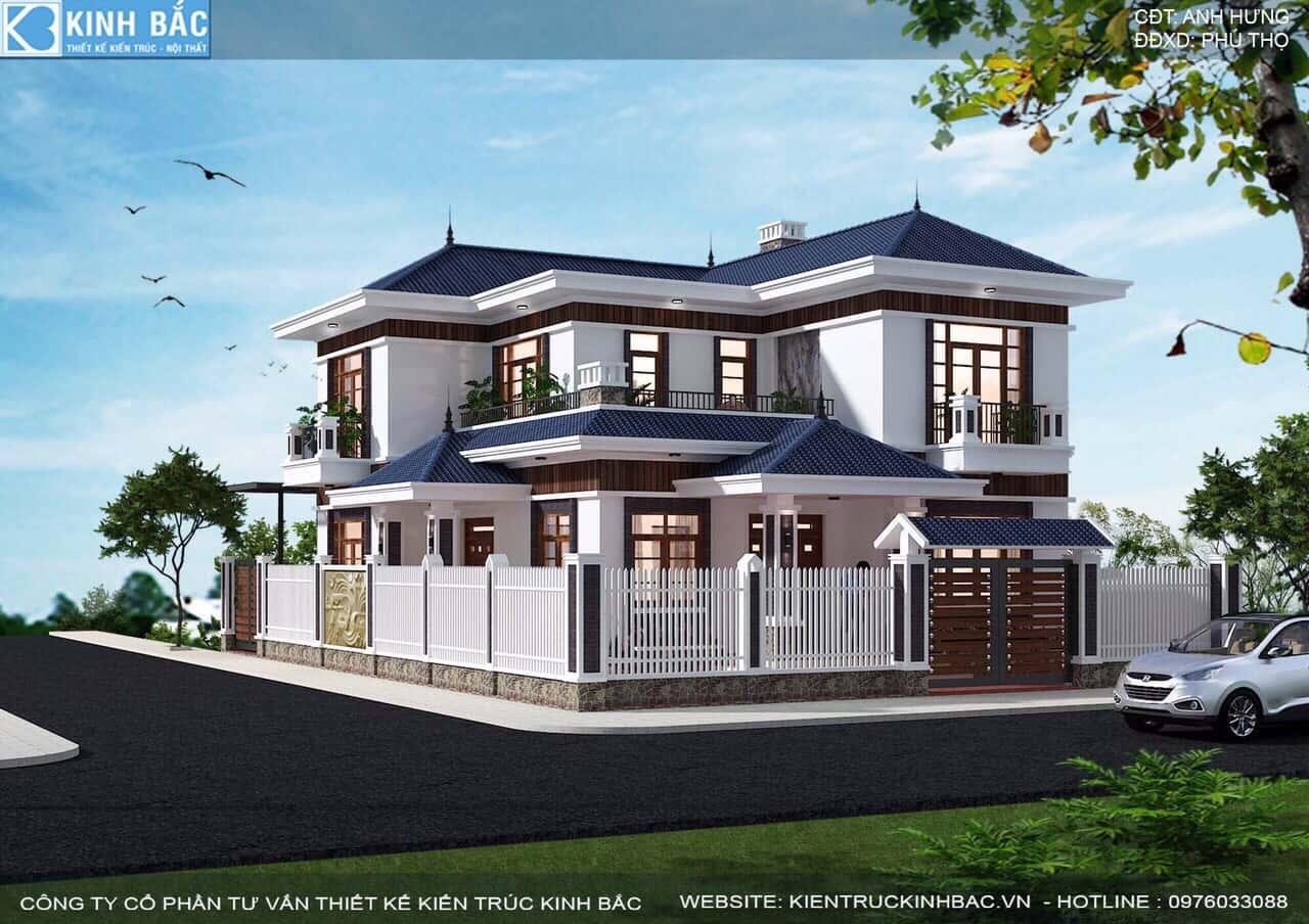77fe8b14b2304b6e1221 - Thiết kế biệt thự 2 tầng mái thái đẹp và chuyên nghiệp