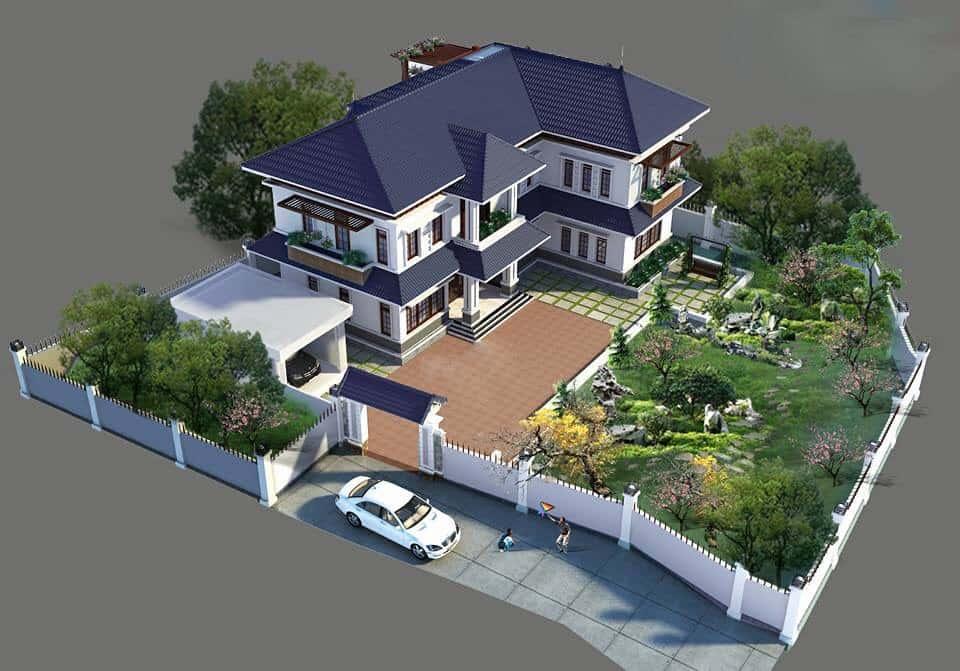 80030556 476196796369797 2228627820878233600 n - Thiết kế biệt thự 2 tầng mái thái đẹp và chuyên nghiệp