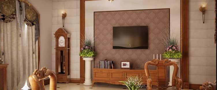 """100 mẫu nội thất phòng khách bằng gỗ gây """"SỐC"""" với lối thiết kế độc đáo"""