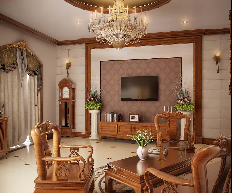 """947d0d0a8e0554437b45526a49104102 - 100 mẫu nội thất phòng khách bằng gỗ gây """"SỐC"""" với lối thiết kế độc đáo"""