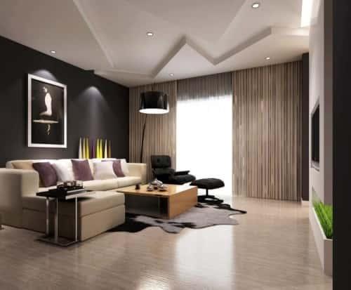 """Thiet ke bo tri phong khach 20 25 m2 10 1 - Thiết kế nội thất phòng khách 25m2 với 20 mẫu """"ngon, bổ, rẻ"""" nhất"""