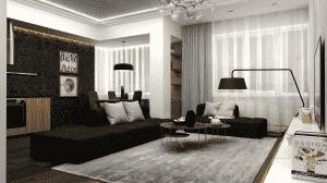 """Thiet ke bo tri phong khach 20 25 m2 11 300x168 - Thiết kế nội thất phòng khách 25m2 với 20 mẫu """"ngon, bổ, rẻ"""" nhất"""
