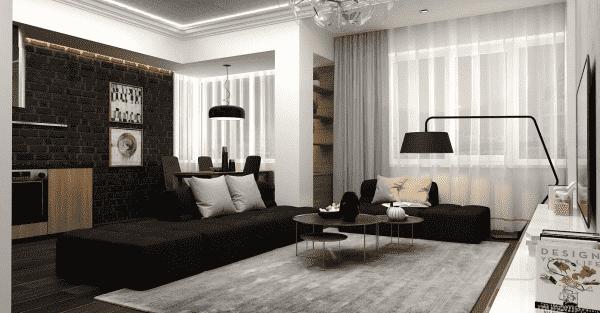"""Thiết kế nội thất phòng khách 25m2 với 20 mẫu """"ngon, bổ, rẻ"""" nhất"""