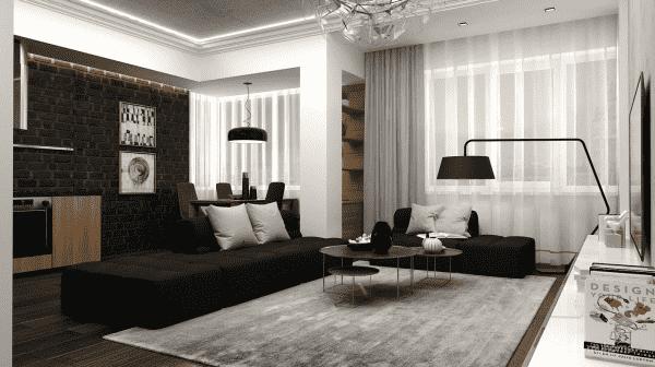 """Thiet ke bo tri phong khach 20 25 m2 11 - Thiết kế nội thất phòng khách 25m2 với 20 mẫu """"ngon, bổ, rẻ"""" nhất"""