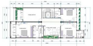 bản vẽ biệt thự 2 tầng mái thái 300x149 - Xây nhà trọn gói ở Nha Trang