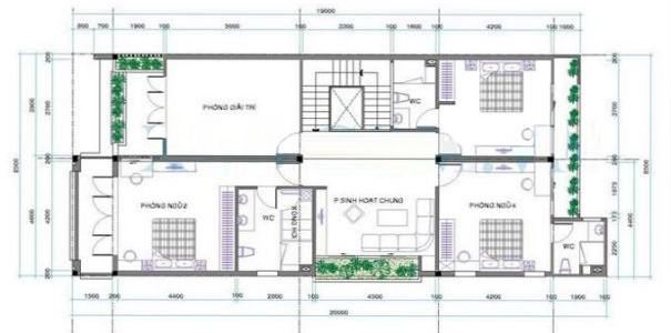 bản vẽ biệt thự 2 tầng mái thái - Thiết kế biệt thự 2 tầng mái thái đẹp và chuyên nghiệp