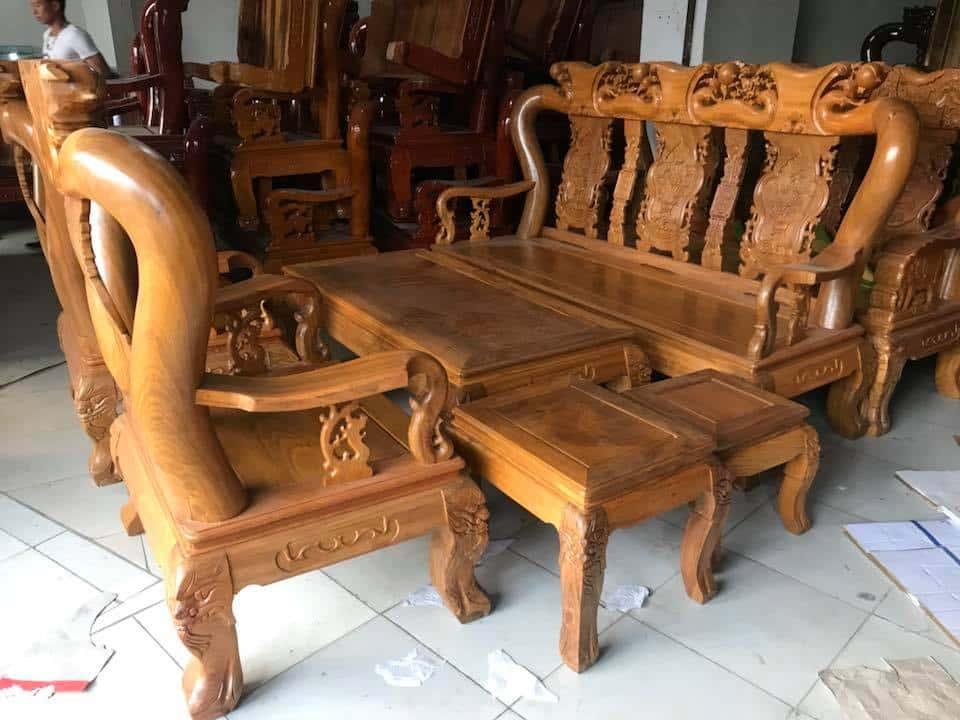 ban ghe xa cu 11 - Bỏng mắt với 10 bàn ghế ghế gỗ xà cừ với giá 12 đến 15 triệu