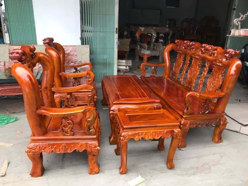 ban ghe xa cu 13 - Bỏng mắt với 10 bàn ghế ghế gỗ xà cừ với giá 12 đến 15 triệu