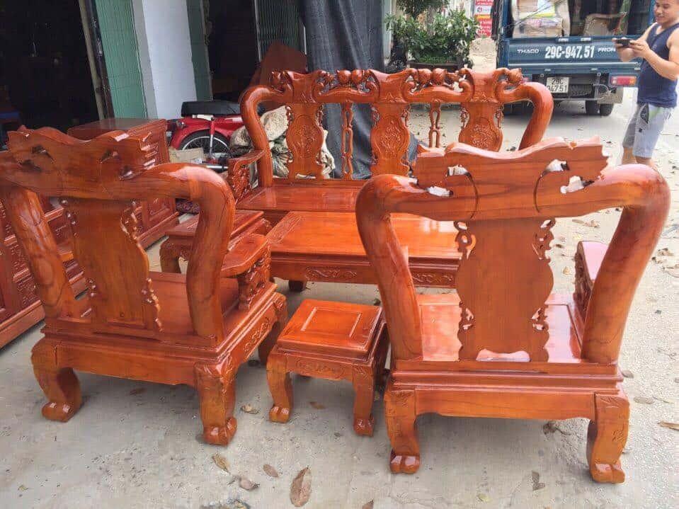 ban ghe xa cu 16 - Bỏng mắt với 10 bàn ghế ghế gỗ xà cừ với giá 12 đến 15 triệu