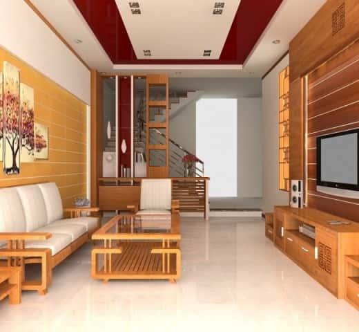 """bi quyet chon do go trang tri noi that phong khach 3 - 100 mẫu nội thất phòng khách bằng gỗ gây """"SỐC"""" với lối thiết kế độc đáo"""