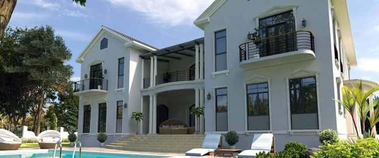 Thiết kế biệt thự mini mái thái đẹp đẳng cấp và hiện đại