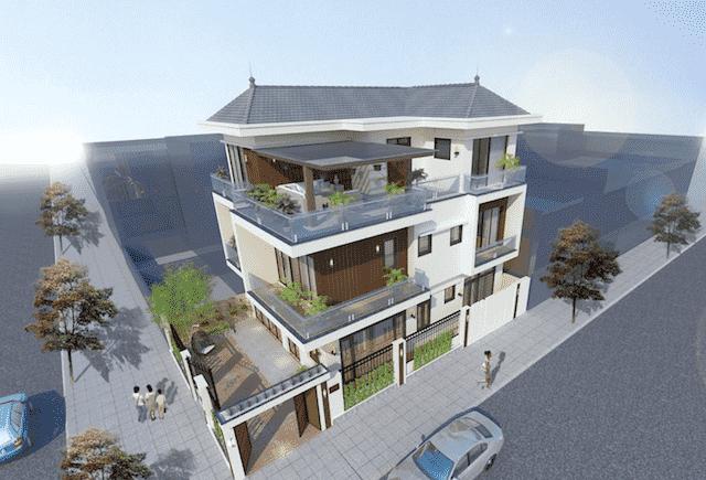 biet thu 3 tang hien dai mr hai hoai duc 5 - 100 mẫu biệt thự 3 tầng hiện đại đẹp nhất 2018