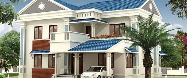 Thiết kế biệt thự 2 tầng mái thái đẹp và chuyên nghiệp
