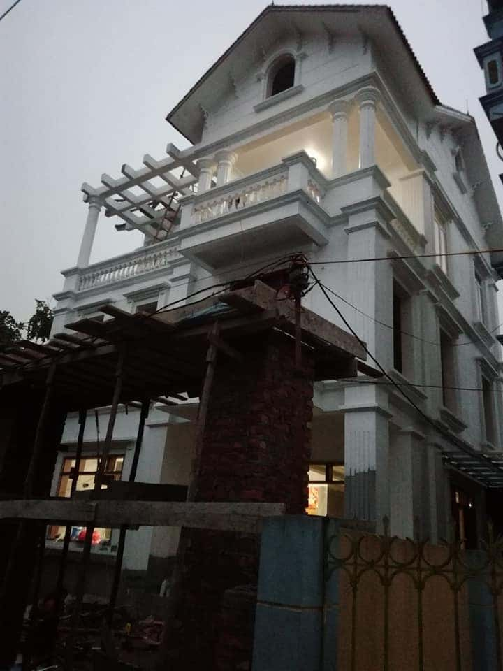 biet thu tan co dien dep - 150 Mẫu thiết kế biệt thự phố cổ điển đẹp ấn tượng