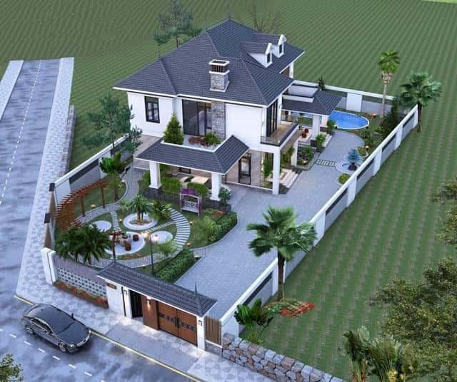 f1a1338beb450d1b5454 - Thiết kế biệt thự 2 tầng mái thái đẹp và chuyên nghiệp