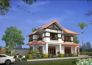 mau biet thu san vuon 2 tang 300x215 - 100 mẫu biệt thự 2 tầng 120m2 đẹp, sang trọng và tiện nghi