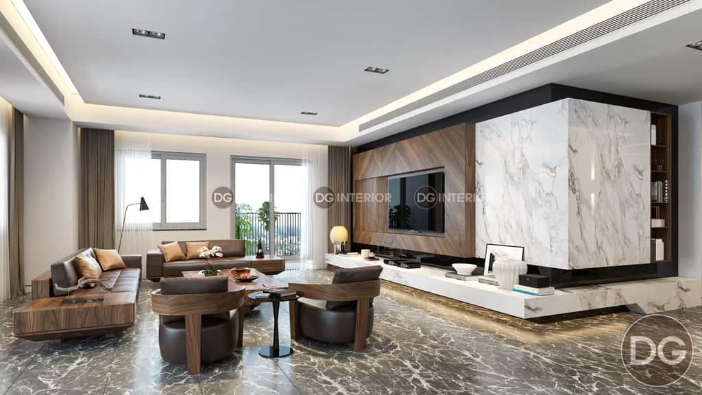 mau thiet ke noi that chung cu 1 2 - Thiết kế nội thất phòng khách đẹp