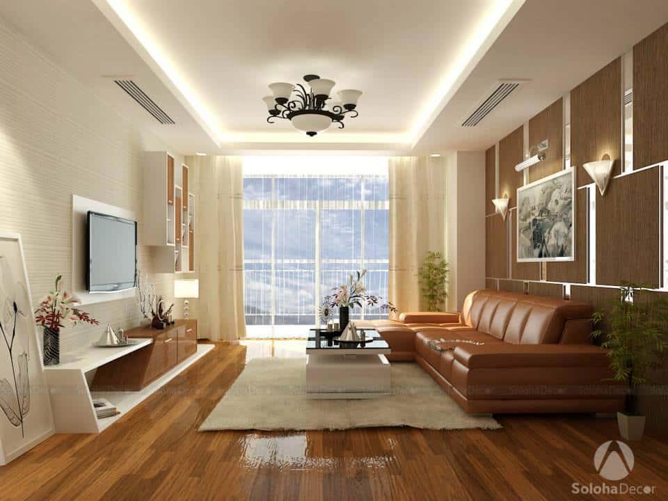 mau thiet ke noi that chung cu 4 1 - Thiết kế nội thất phòng khách đẹp