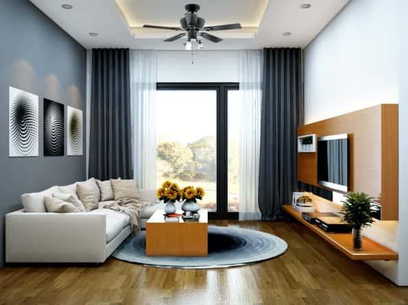 mau thiet ke noi that chung cu 5 1 - Thiết kế nội thất phòng khách - 4 bước đơn giản tạo nên không gian đẹp