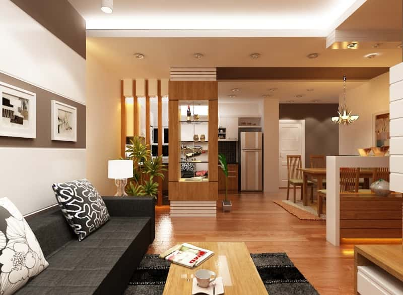 mau thiet ke noi that phong khach nha ong 3 - Thiết kế nội thất phòng khách - 4 bước đơn giản tạo nên không gian đẹp