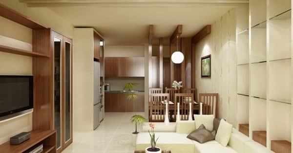 Thay đổi không gian hẹp với 15 mẫu nội thất phòng khách nhà ống