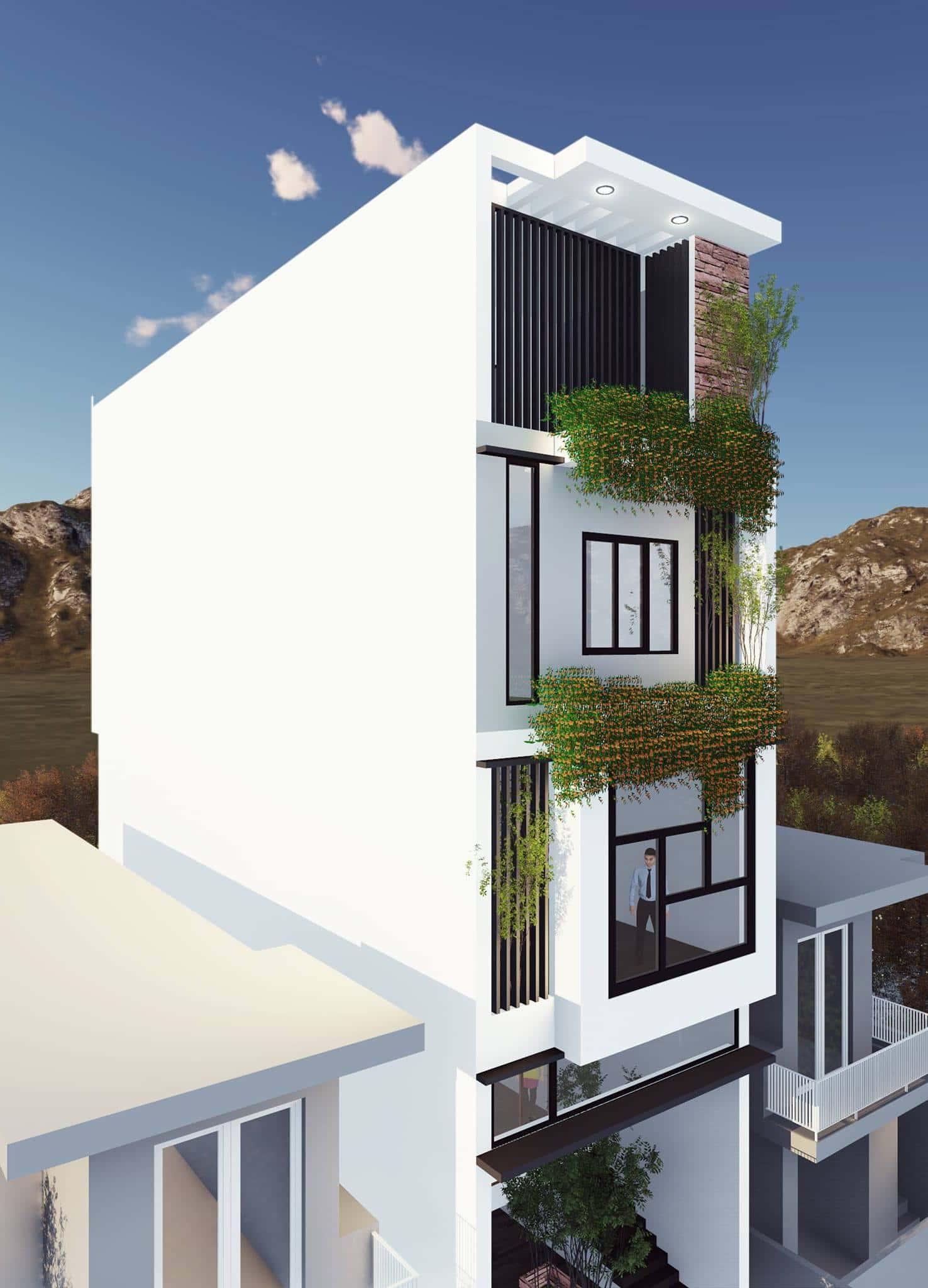 nha pho dep 2 - Thiết kế nhà Hải Phòng | 1000 mẫu nhà đẹp phong cách ấn tượng