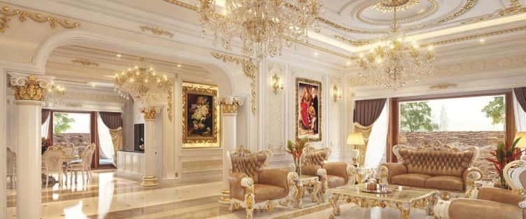 10 mẫu nội thất tân cổ điển đẹp đến mê người không thể bỏ lỡ