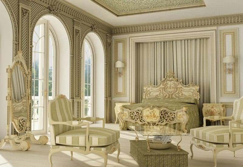 """noi that co dien Chau Au - Bật mí những """"bí mật"""" của phong cách thiết kế nội thất tân cổ điển đẹp"""