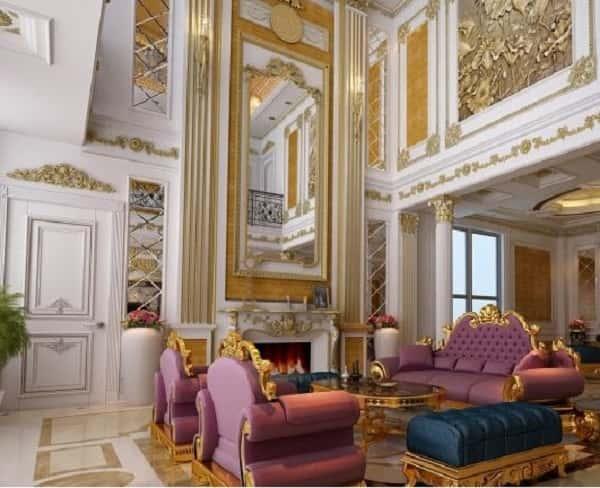 """noi that co dien chau au 4 768x542 1 - Bật mí những """"bí mật"""" của phong cách thiết kế nội thất tân cổ điển đẹp"""