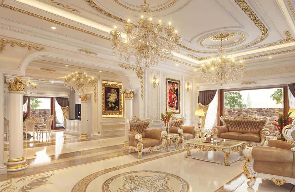 """noi that co dien - Bật mí những """"bí mật"""" của phong cách thiết kế nội thất tân cổ điển đẹp"""
