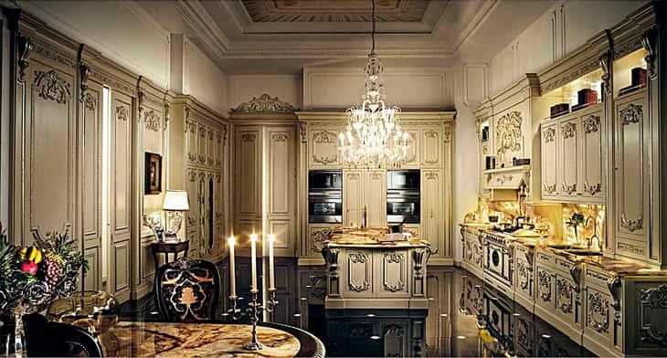 """noi that co dien 3 - Bật mí những """"bí mật"""" của phong cách thiết kế nội thất tân cổ điển đẹp"""